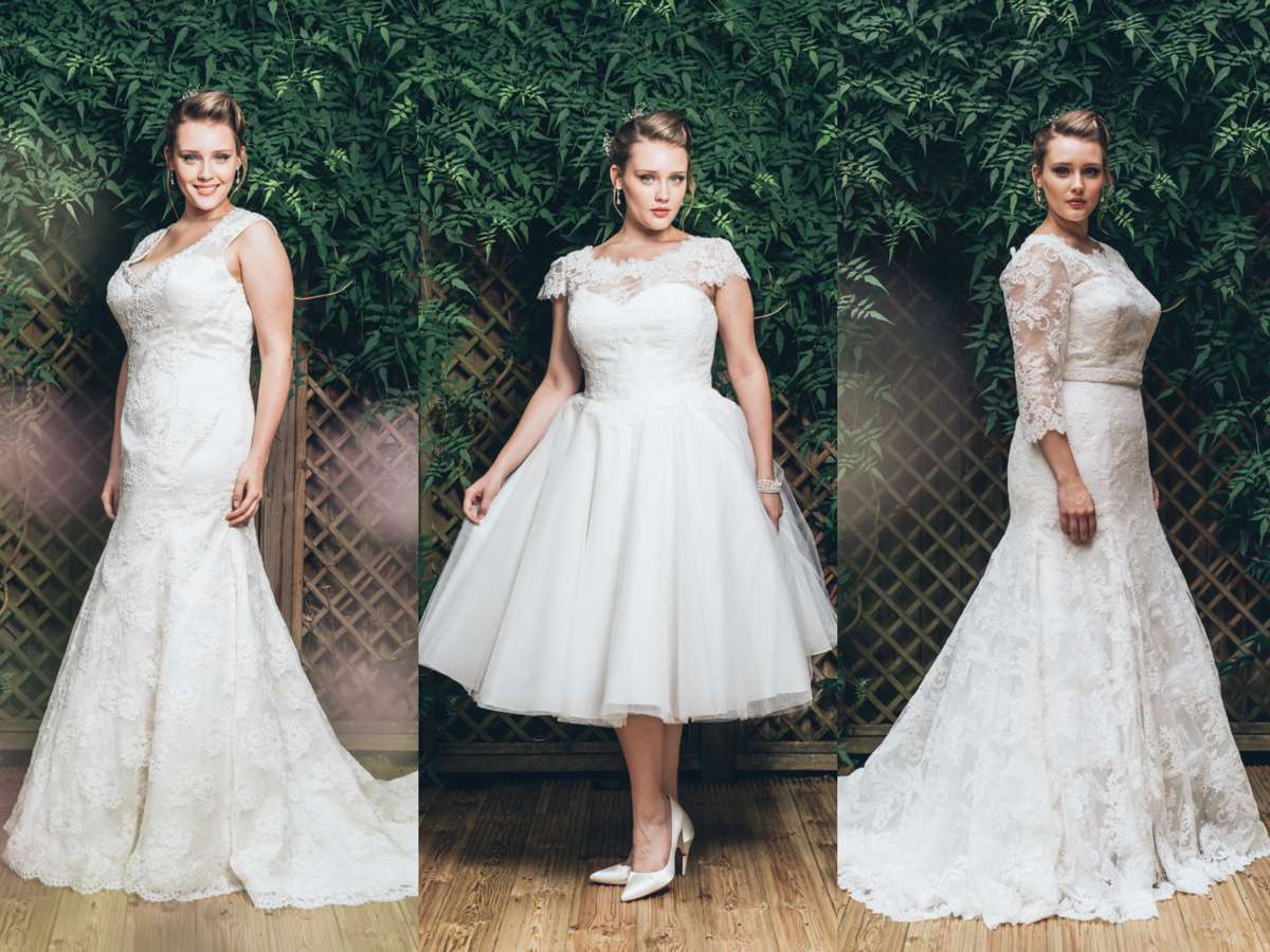 NEW Plus Size Bridal Collection From White Rose