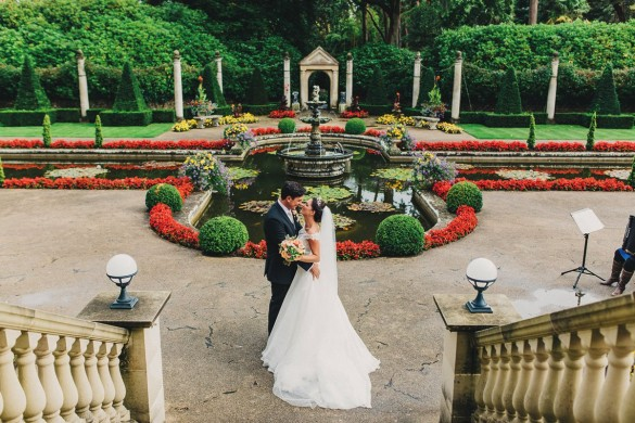 A wow-factor wedding with personal details…