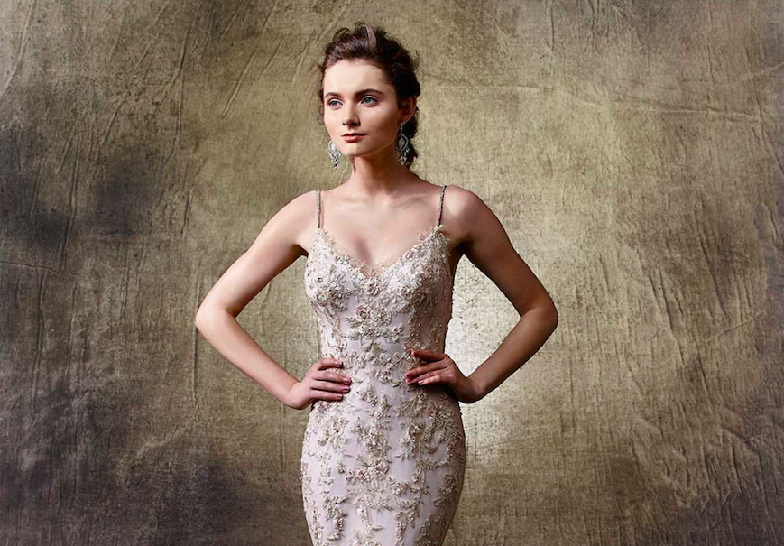 5 non-white wedding dresses from Enzoani - Love Our Wedding