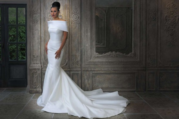 glamorous wedding gowns from Grace philips