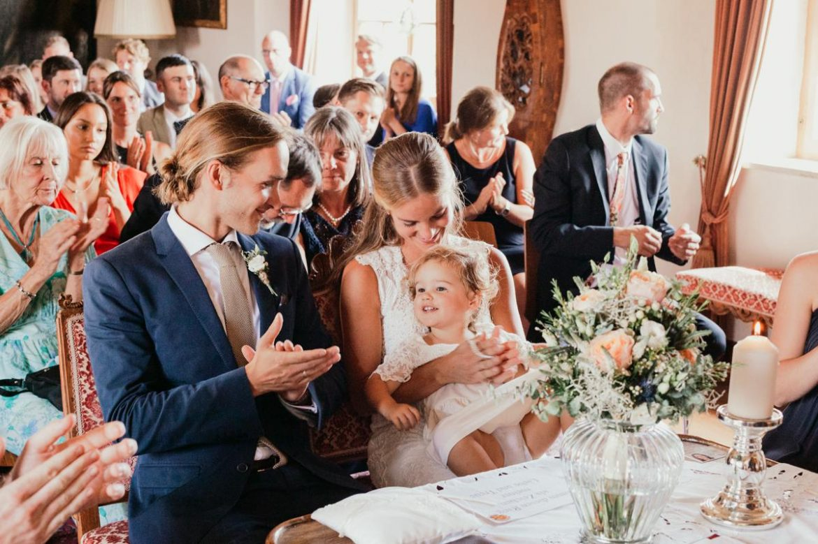 involve your children in your wedding