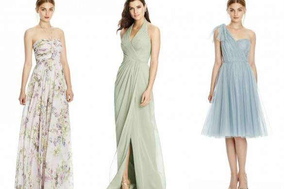 Bridesmaid dresses from Dessy