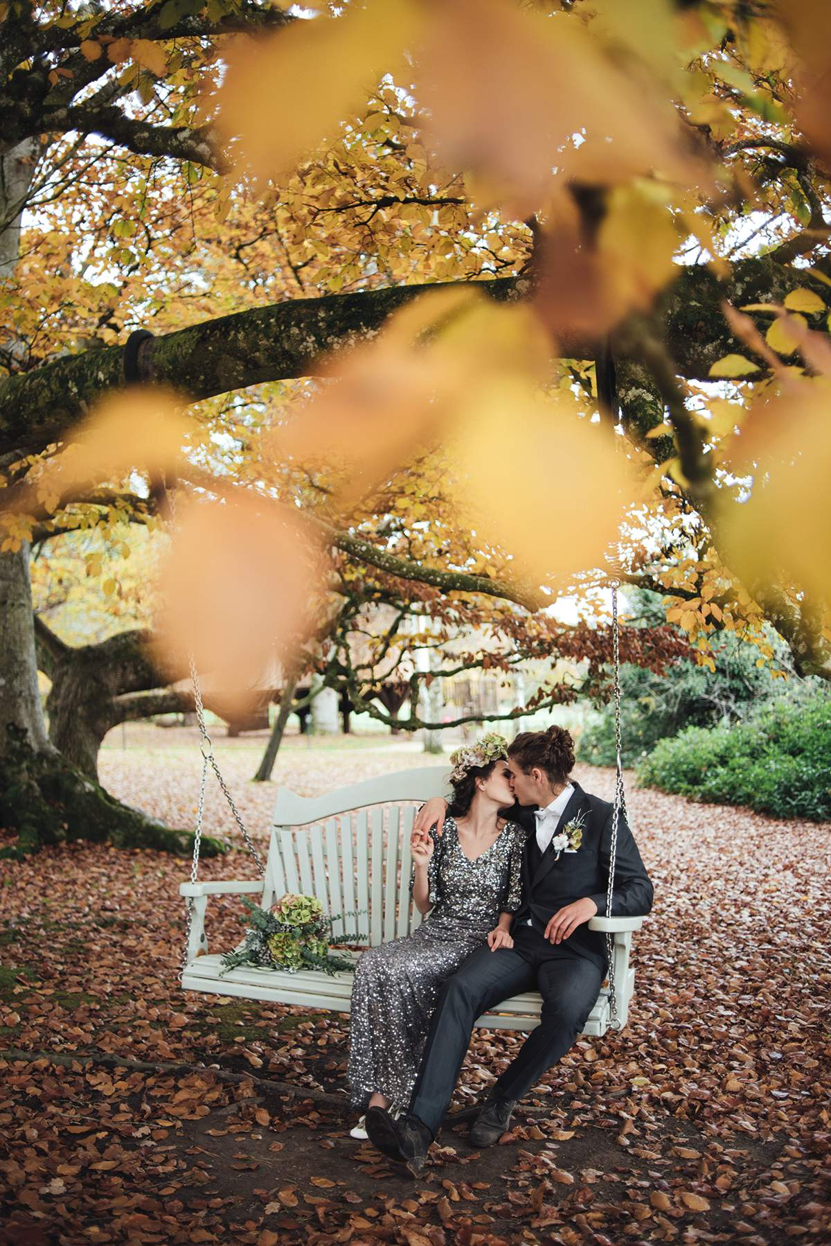 Luxe Winter Wonderland styled bridal shoot Deer Park Liberty Pearl Photography-117