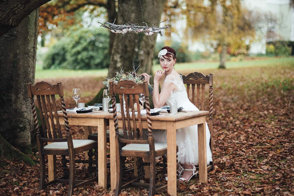 Luxe Winter Wonderland styled bridal shoot Deer Park Liberty Pearl Photography-217