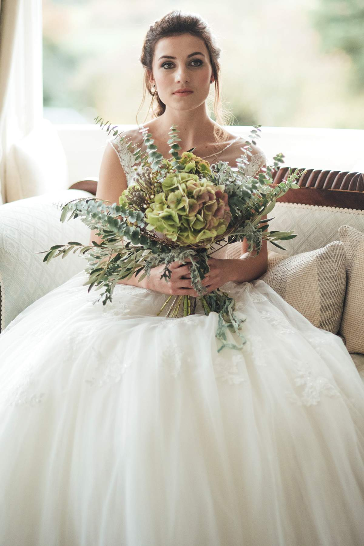 Luxe Winter Wonderland styled bridal shoot Deer Park Liberty Pearl Photography-22