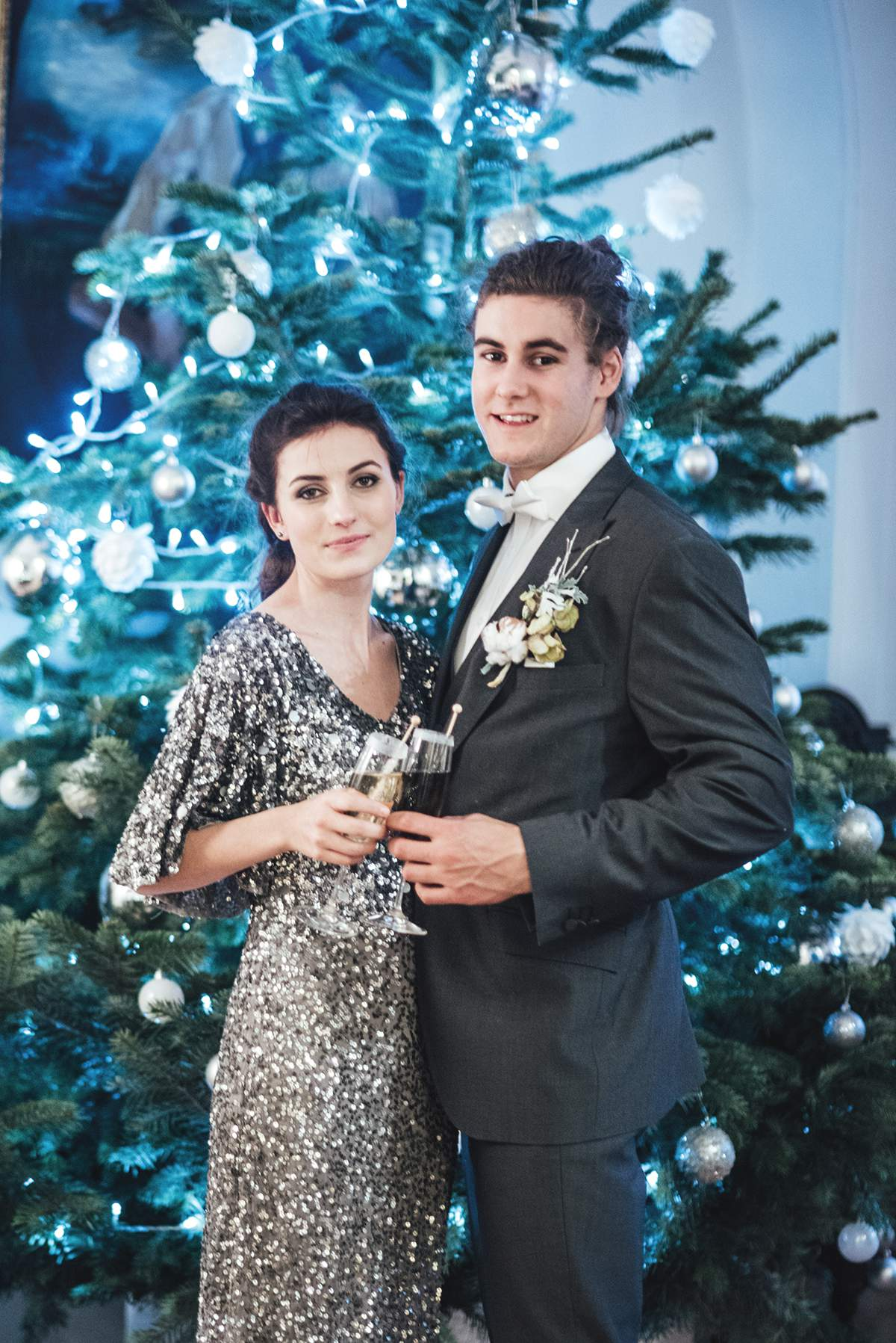 Luxe Winter Wonderland styled bridal shoot Deer Park Liberty Pearl Photography-298