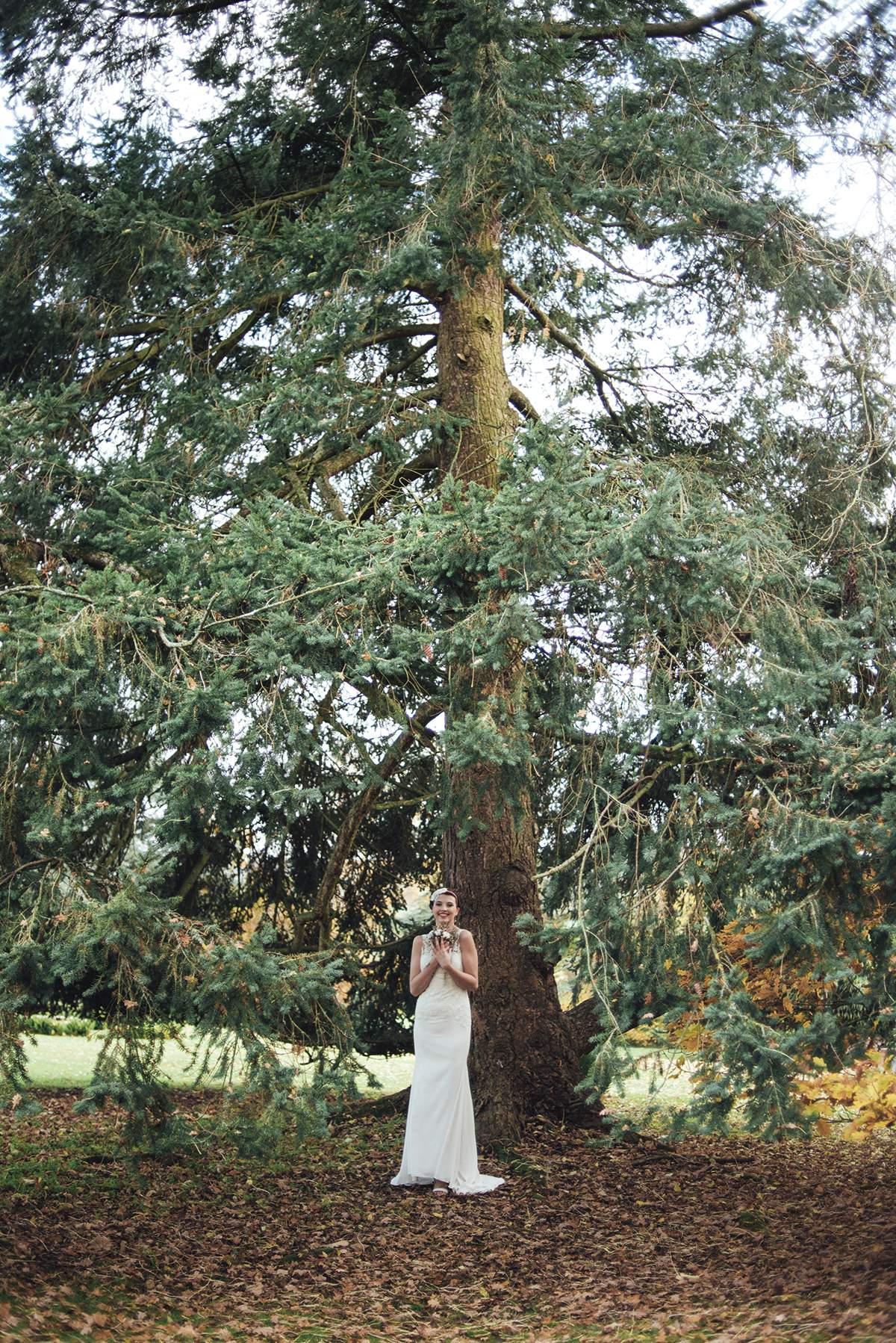 Luxe Winter Wonderland styled bridal shoot Deer Park Liberty Pearl Photography-81