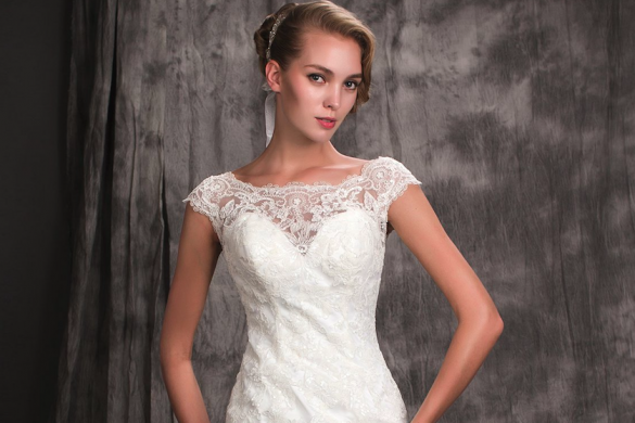 Lace wedding gowns from June Peony