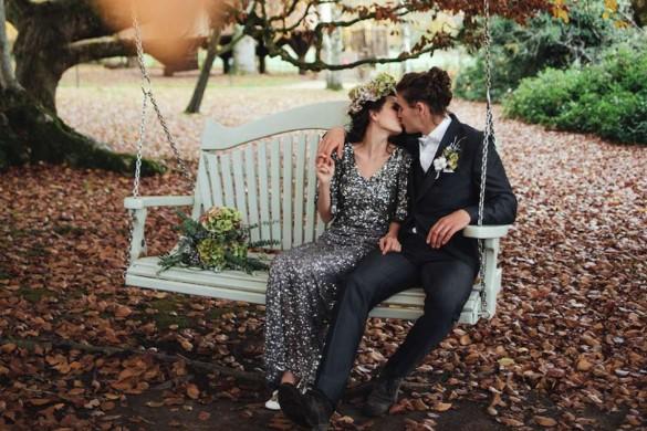 Winter wedding photoshoot