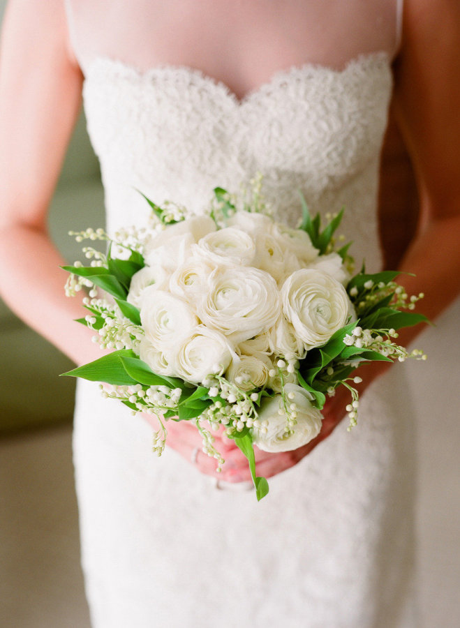 Ranunculus And Lily Of The Valley Bouquet Image By Elizabethmessina