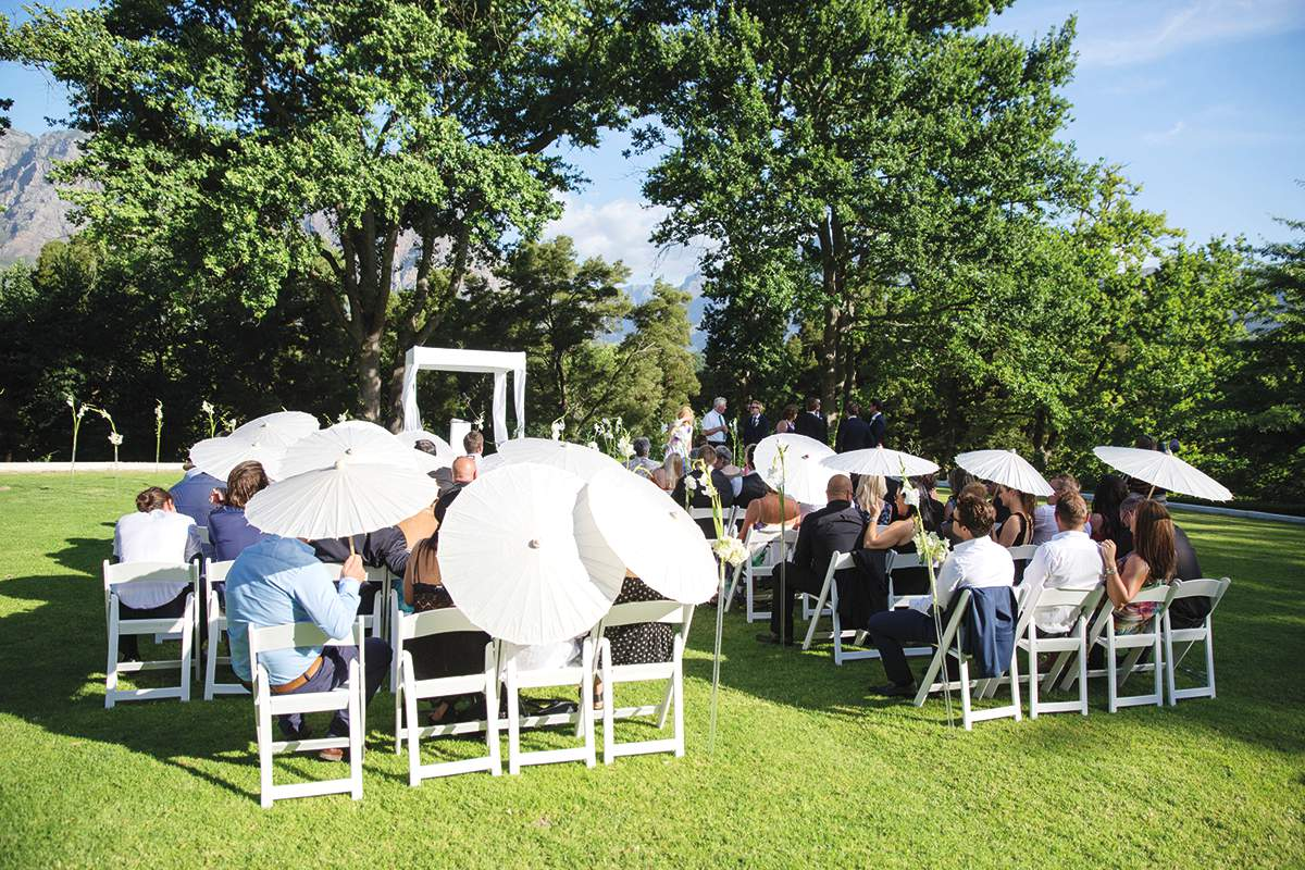a romantic wedding in cape town love our wedding