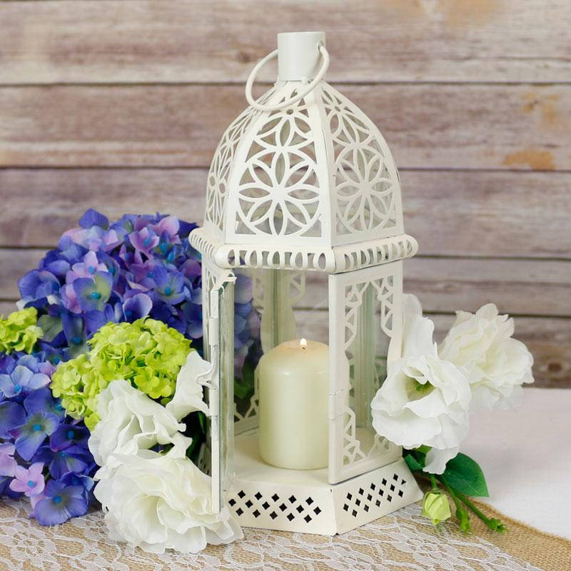 Centrepiece ideas - Cream Table Lantern, £6.79