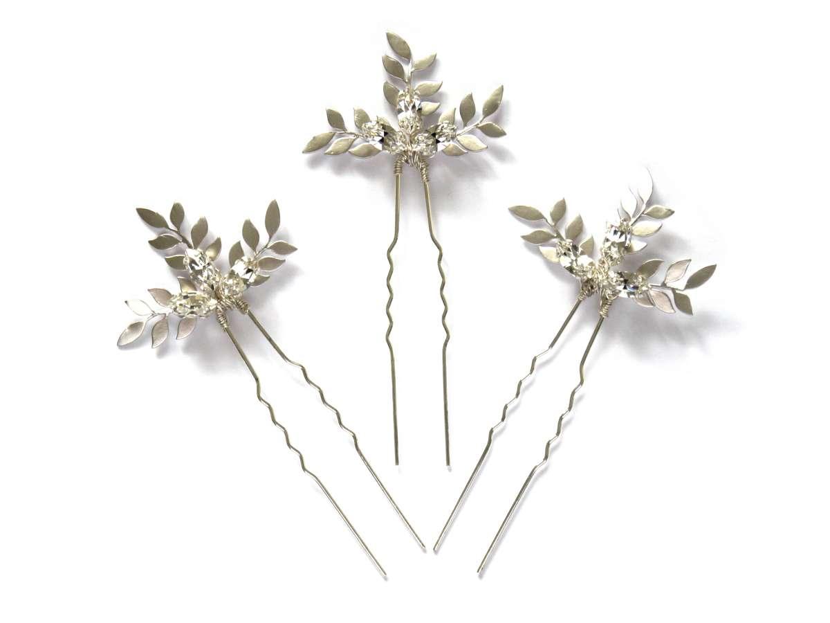 Crystal Barley Pins LaurelLime.com £75.00