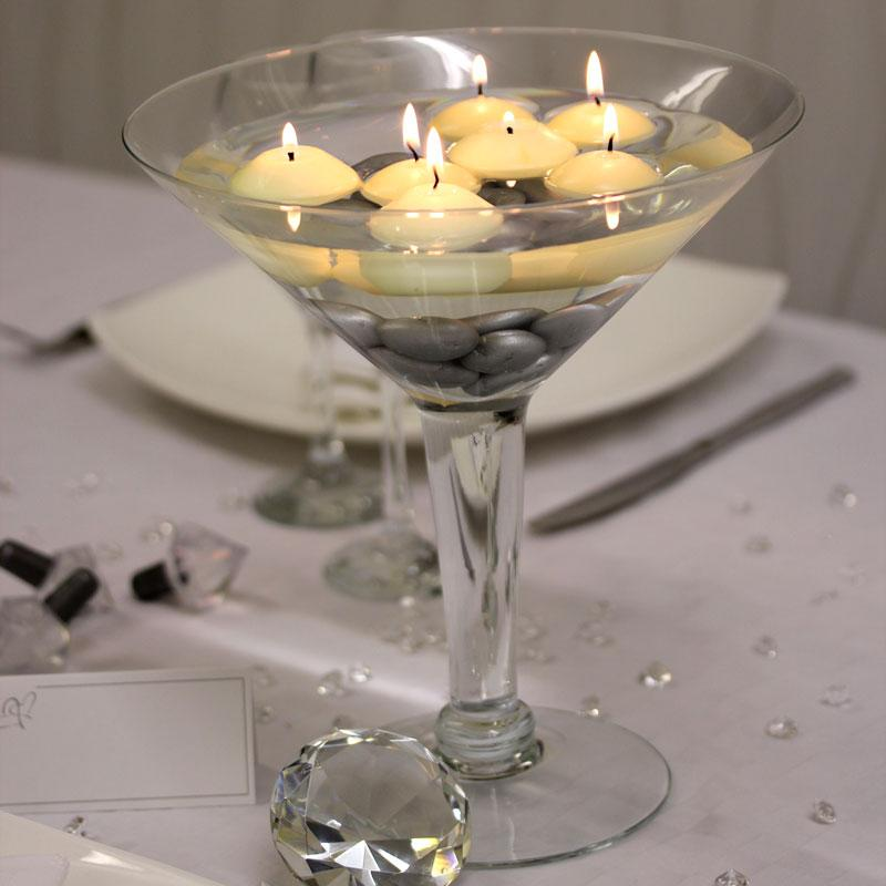 Centrepiece ideas - Giant Martini Glass £13.14