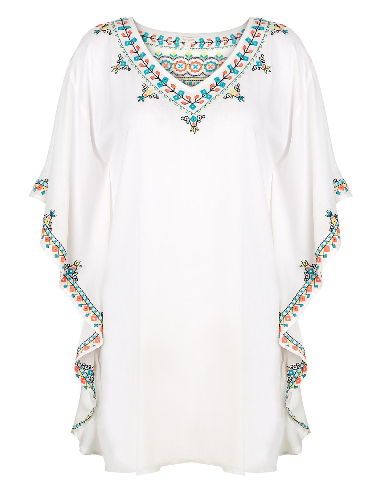 Monsoon Frida embroidered kaftan £59