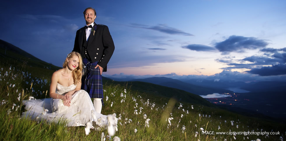 Nevis Range Wedding Header