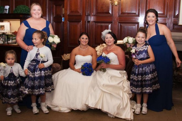 Sally Gemma Disney-themed wedding