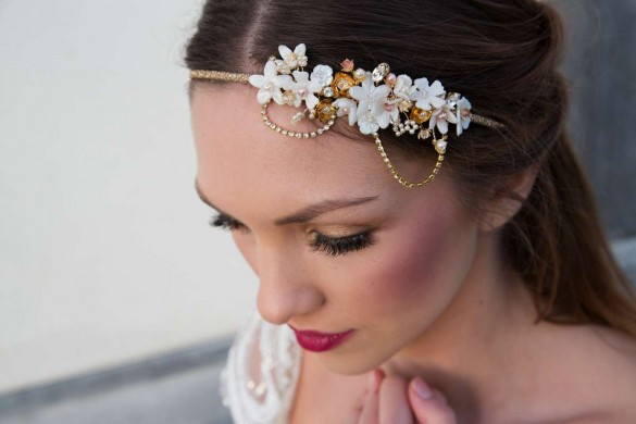 Laurel Lime wedding accessories