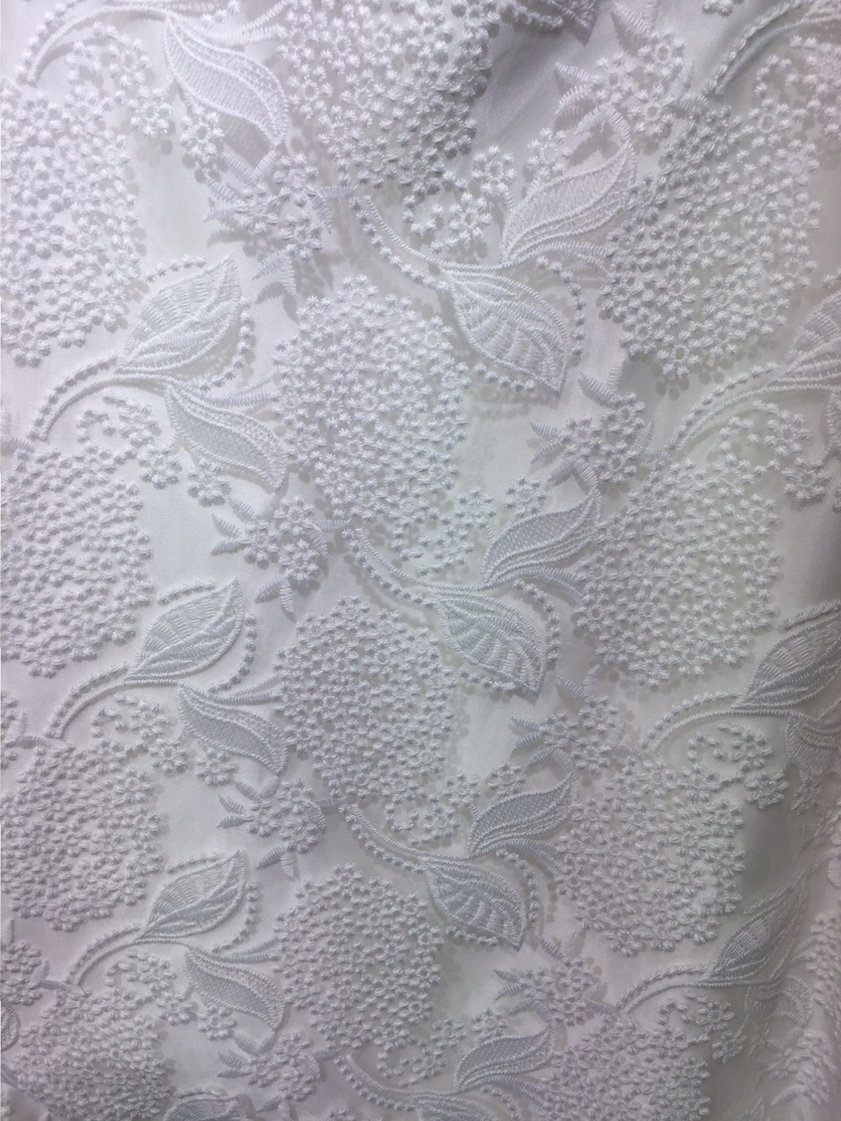 Wedding dress trends - embossed lace