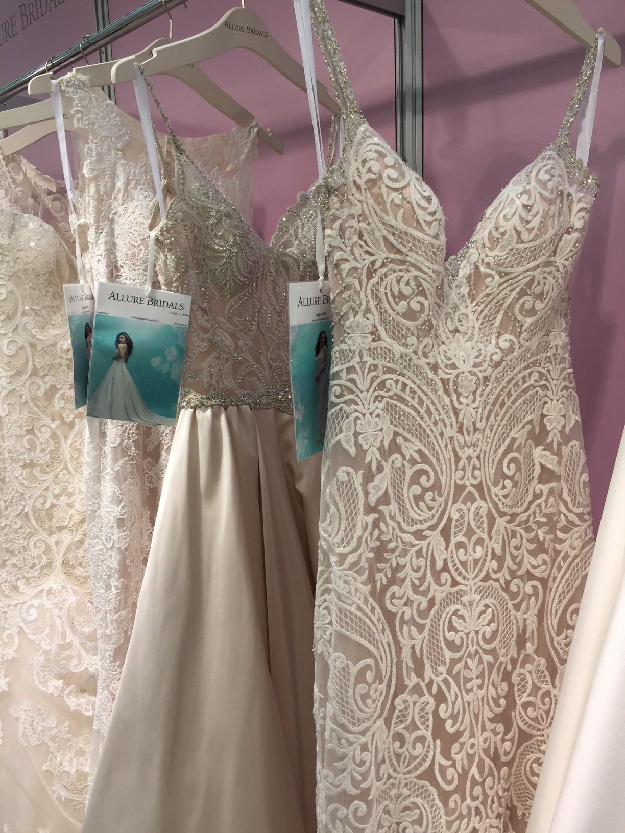 Wedding dress trends - nude