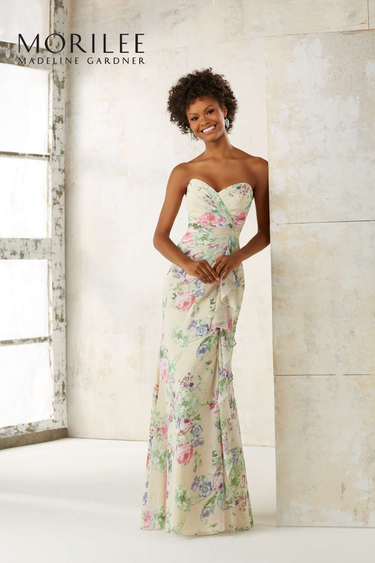 floral bridesmaid dresses 21510-0037