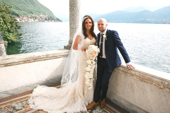 Stunning wedding in Italy