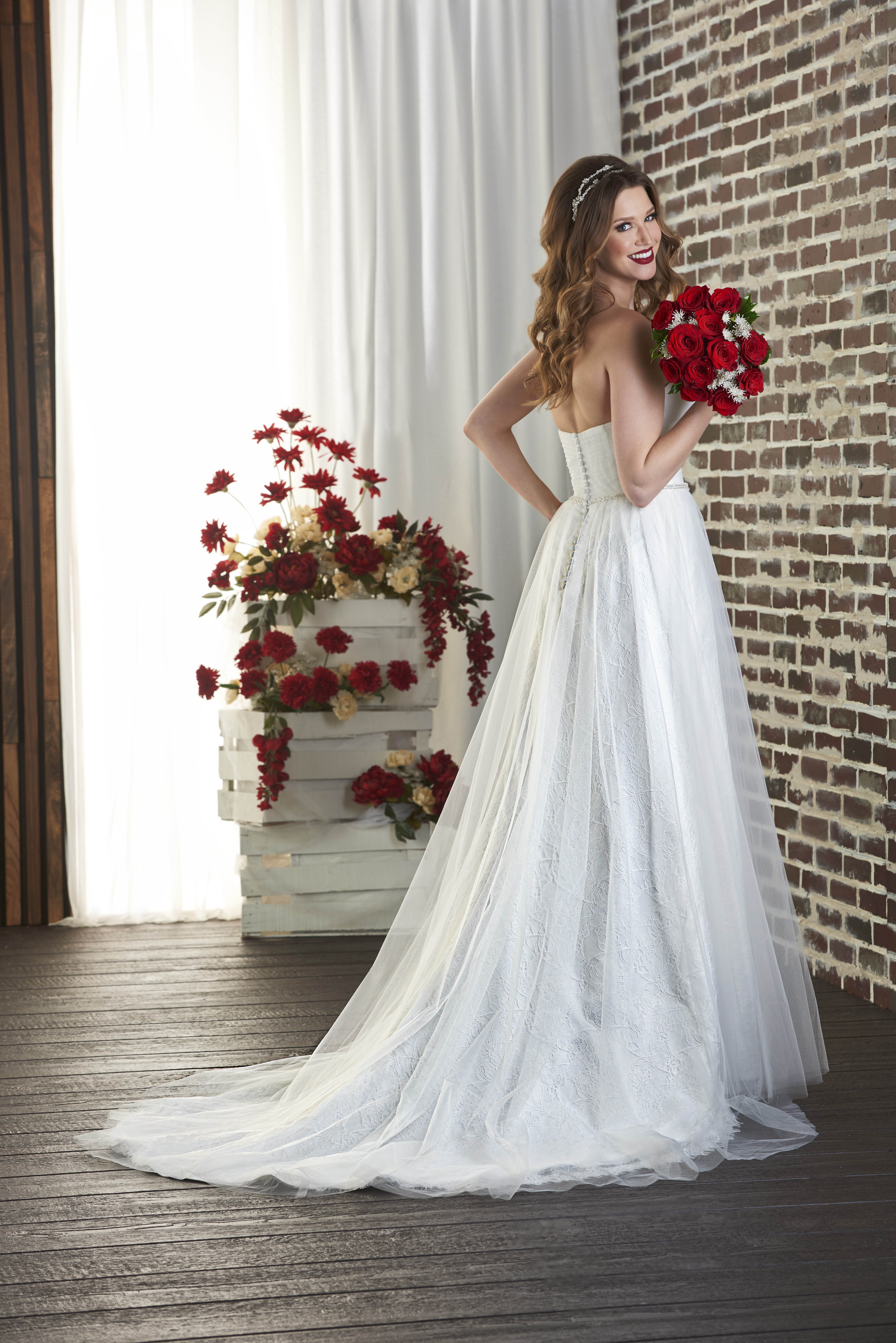 Destination wedding dresses from the Love collection by Bonny Bridal ...