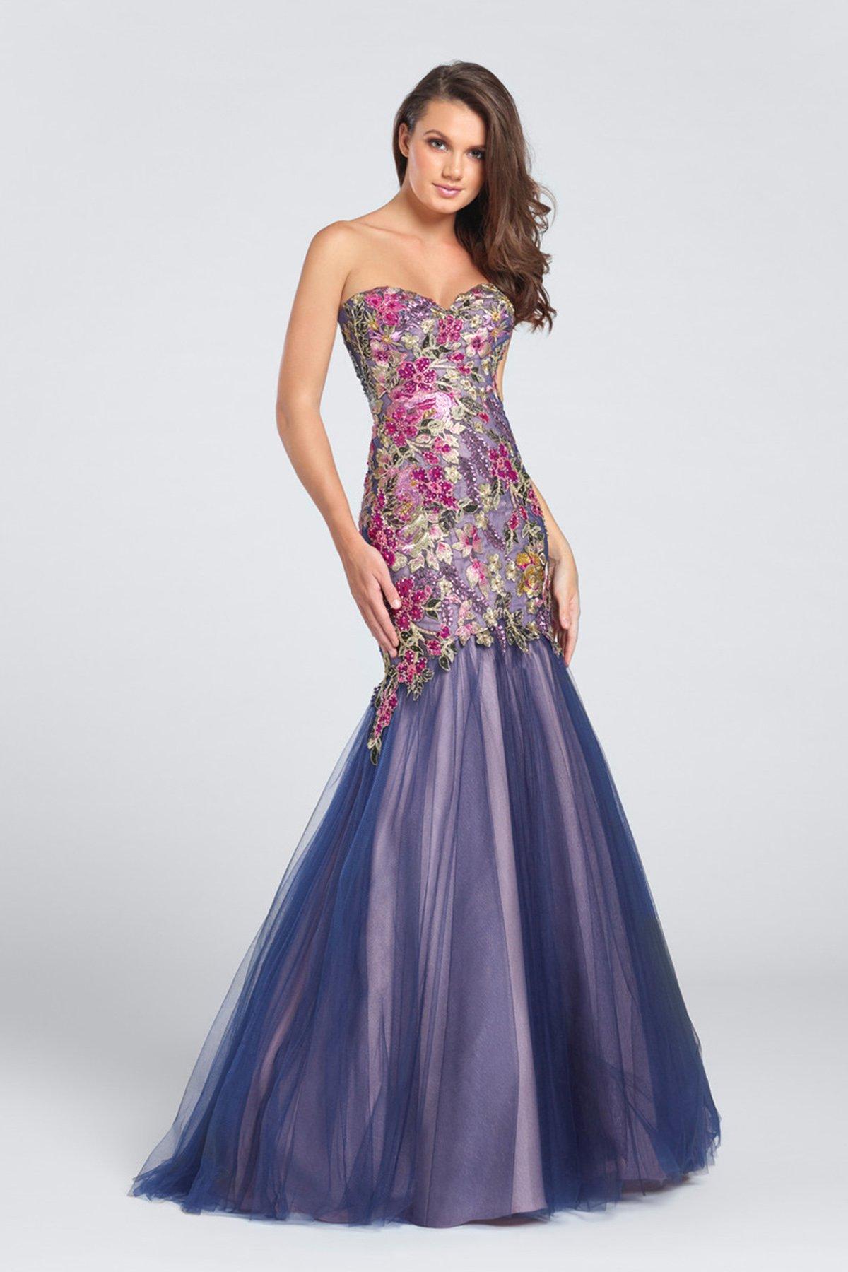 floral bridesmaid dresses ellie wilde EW117152