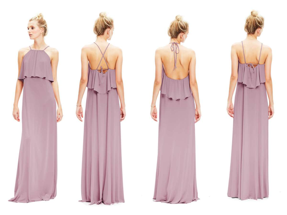 twobirds bridesmaid zoe dress