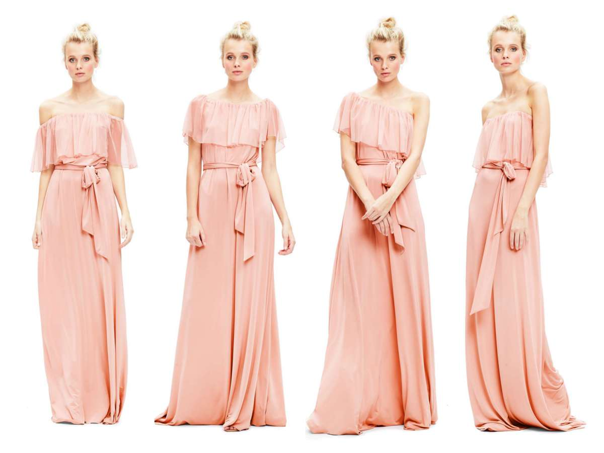 twobirds bridesmaid maya dress
