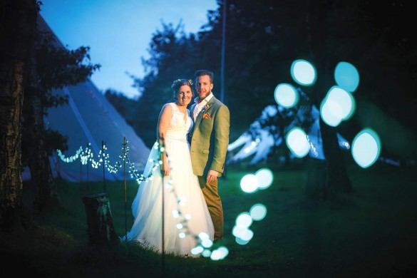 A magical tipi wedding