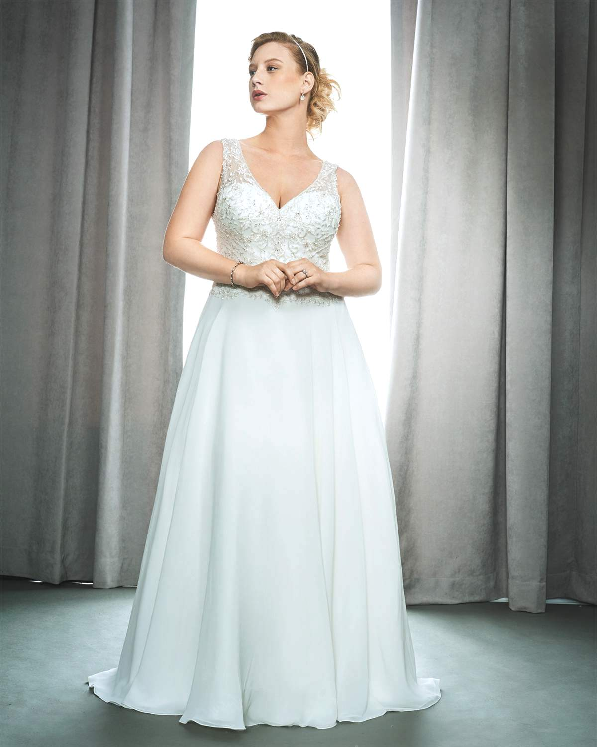 Plus Size Wedding Dresses Va : Plus va voom with size gowns love our wedding