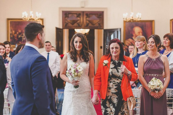 A beautiful, stately countryside wedding