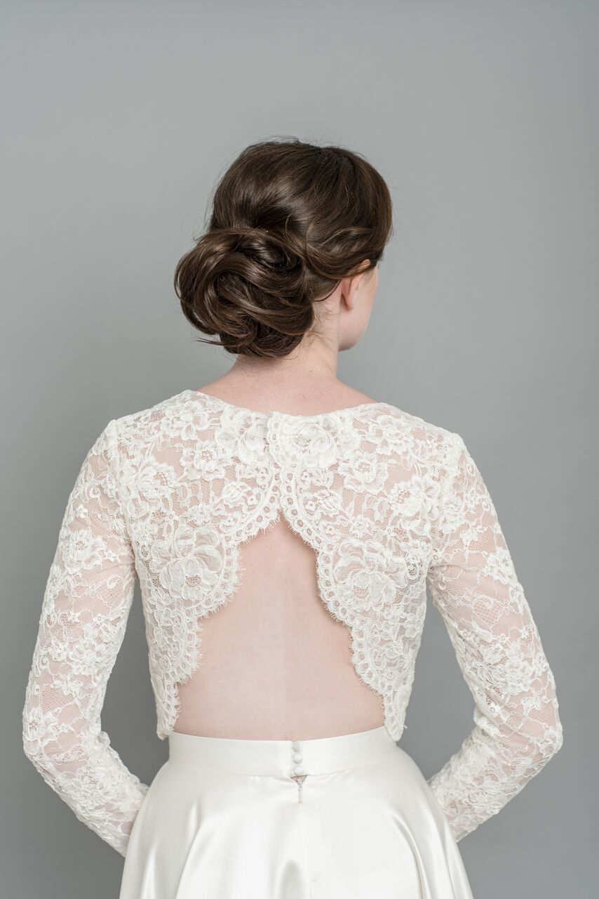 Elyse lace top back