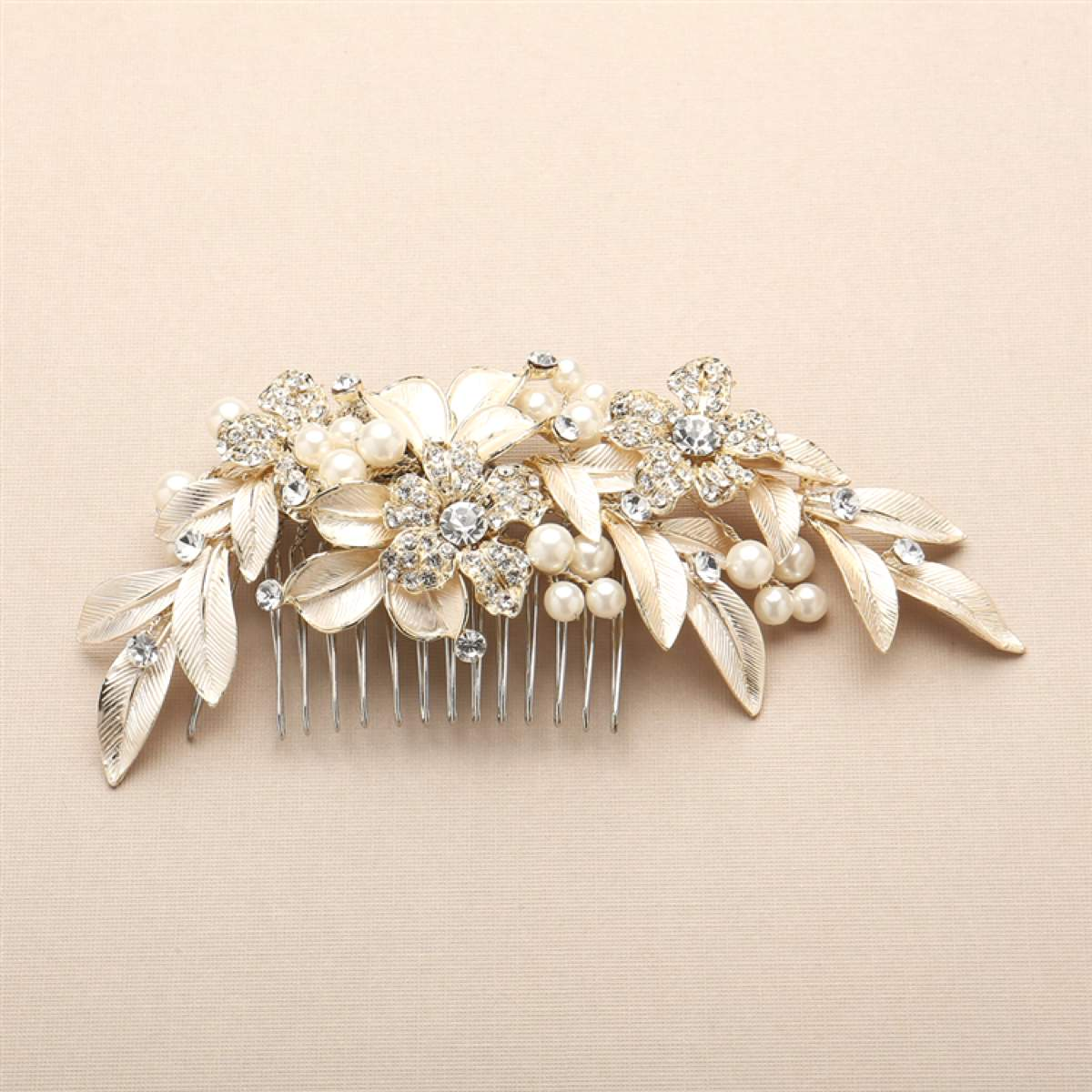 Annabelle gold hair comb