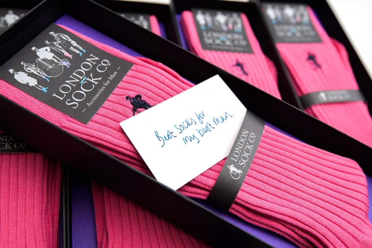 Bespoke wedding day socks for your groom and ushers - Love Our Wedding