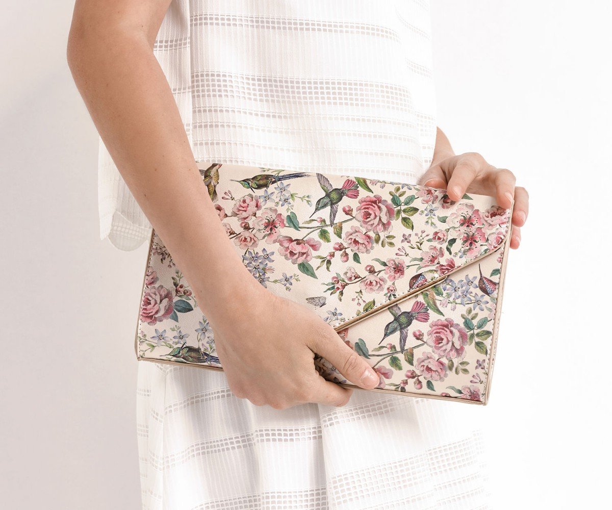 Oasis ROYAL WORCESTER CLUTCH £25.00