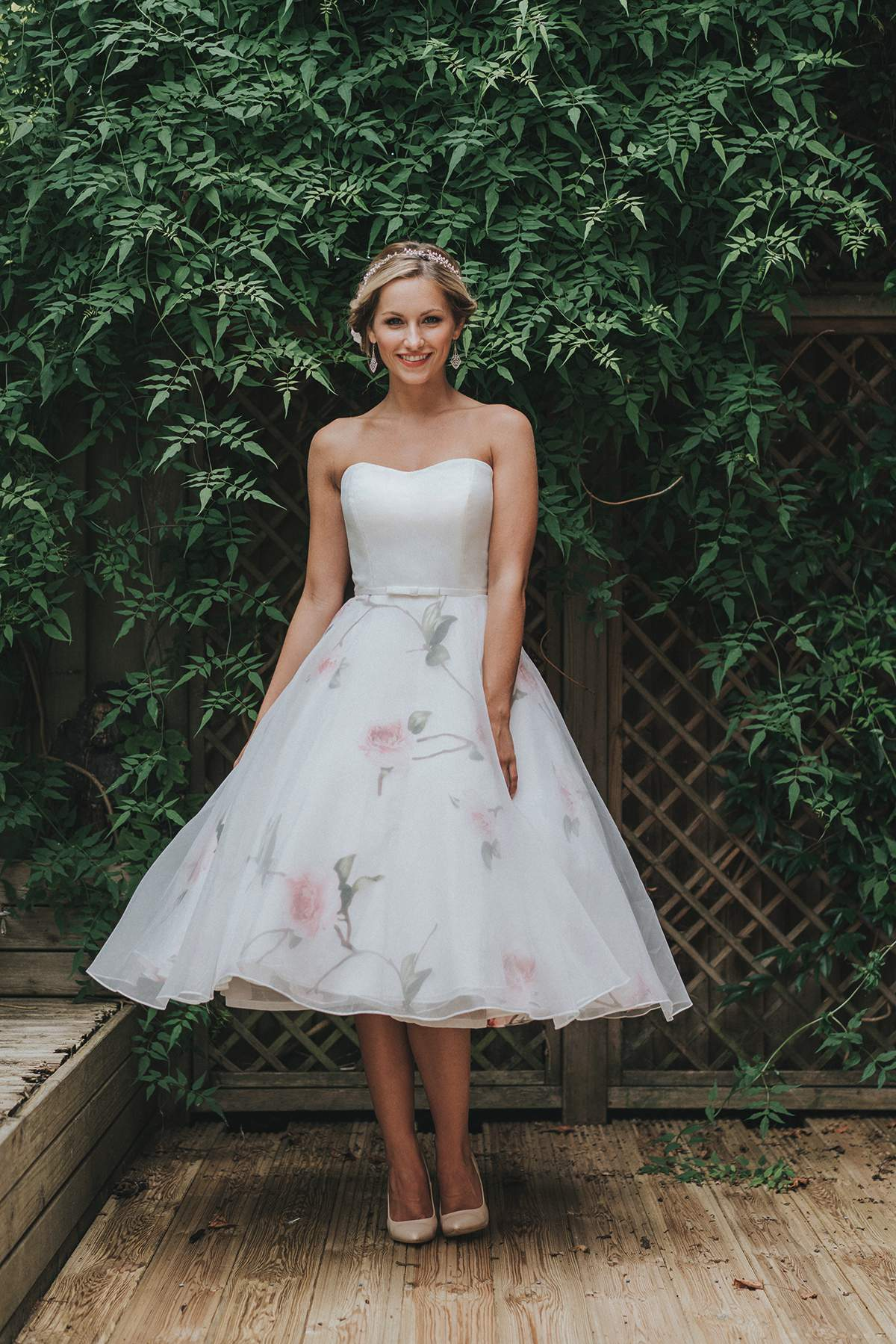 A 1950's-inspired floral dress from White Rose