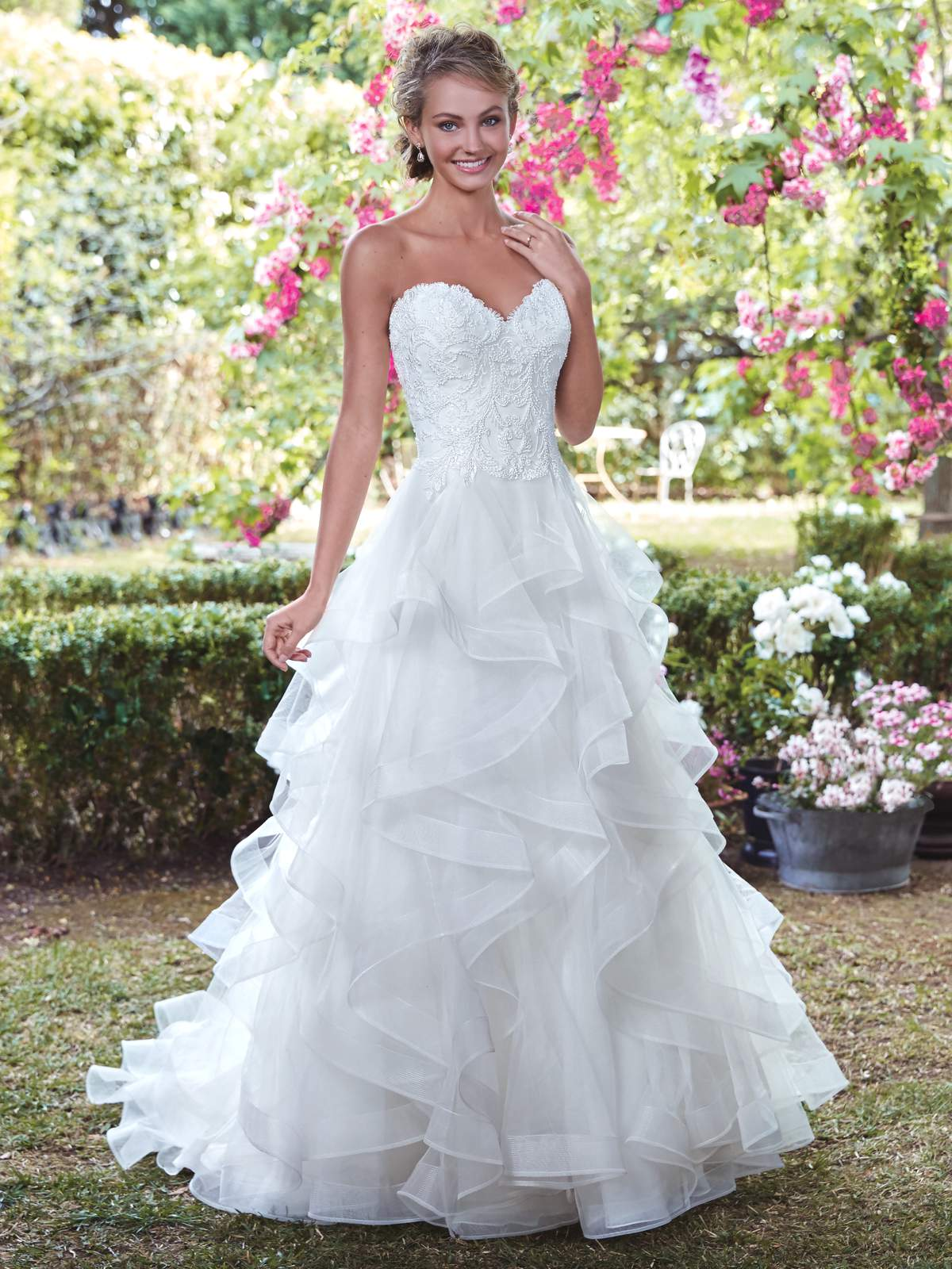Radiant Rebecca Ingram dresses! - Love Our Wedding