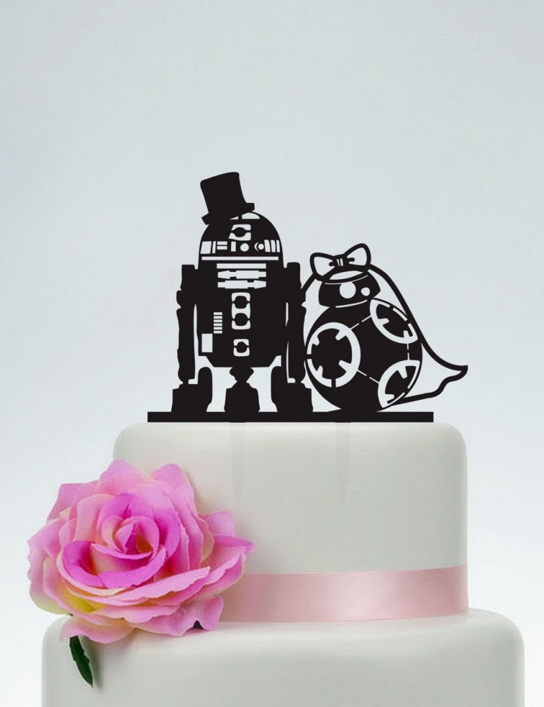7 funny wedding cake toppers - Love Our Wedding