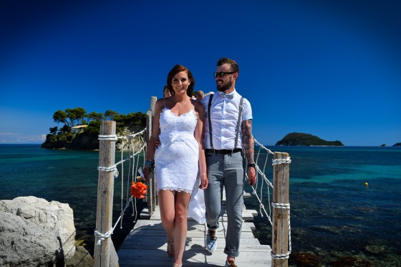 A bright and beautiful destination wedding in Greece