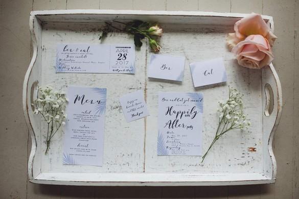 A fabulously rustic, beach-themed wedding in Hawaii