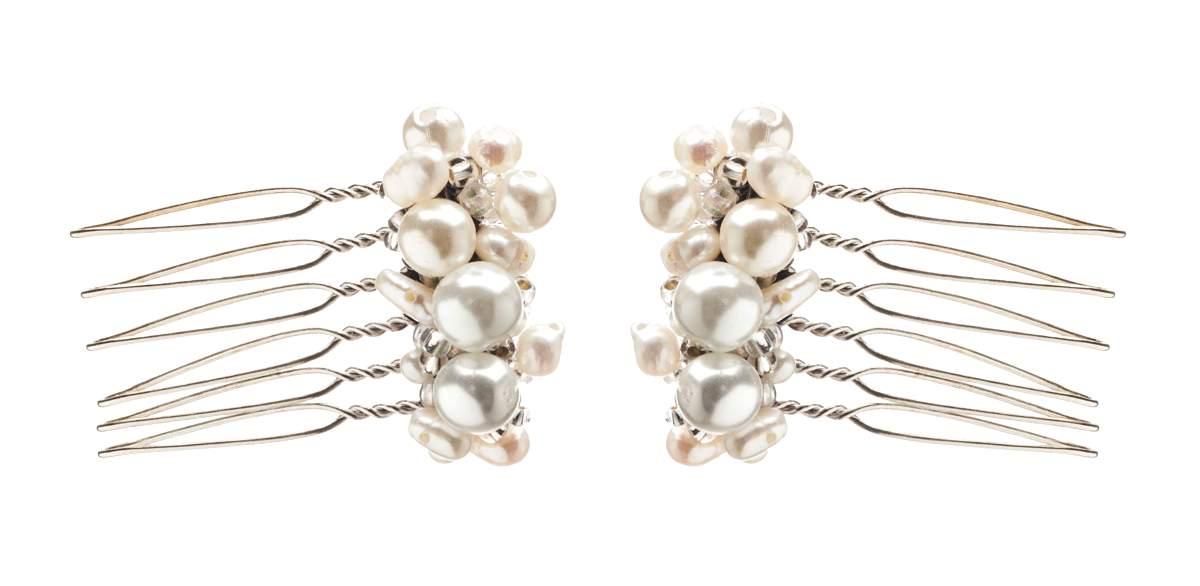 Acorn pearl combs, HT Headwear, £25