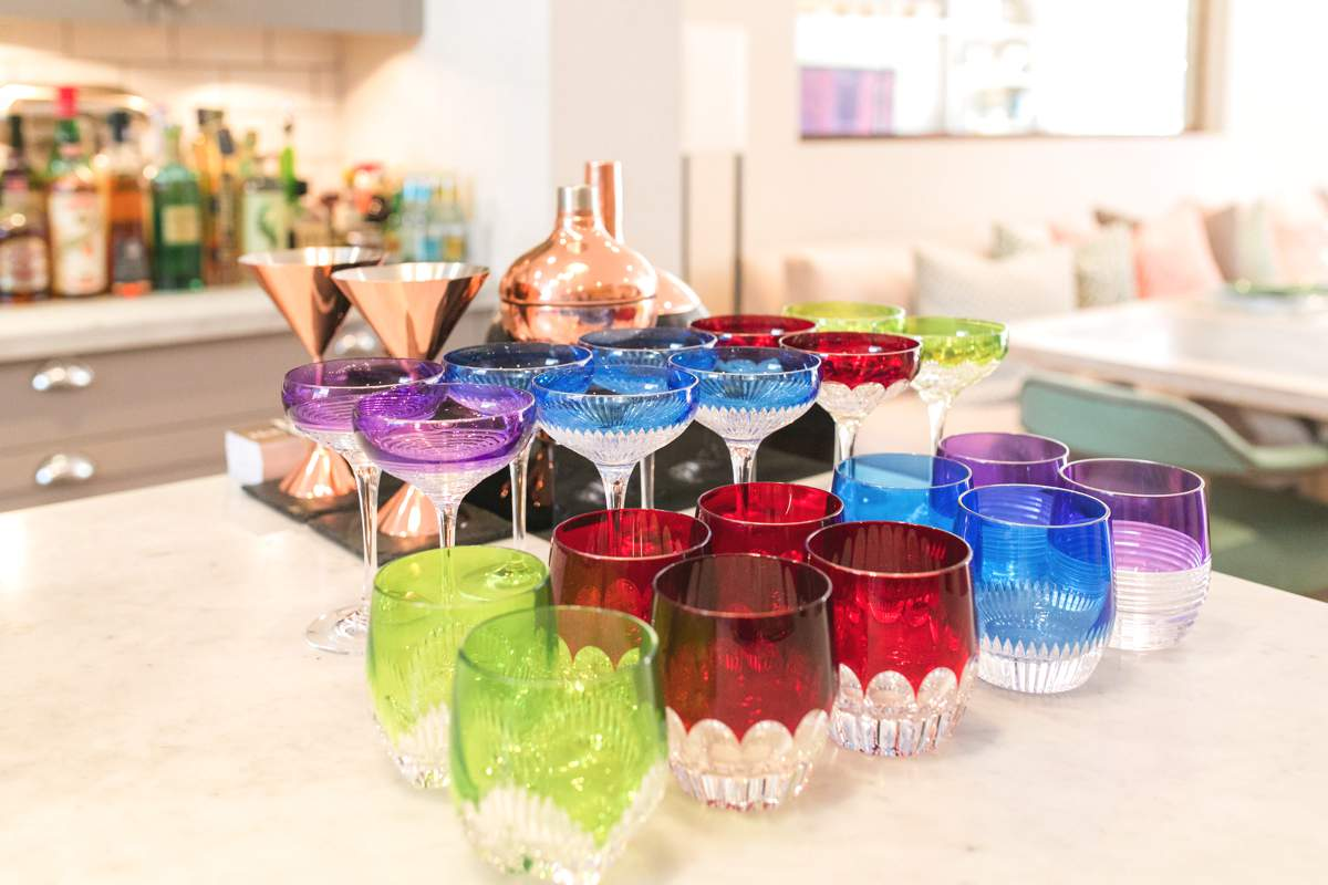 TWS Waterford Crsytal Mixology glasses from £100 for set of 4 photography by Roberta Facchini