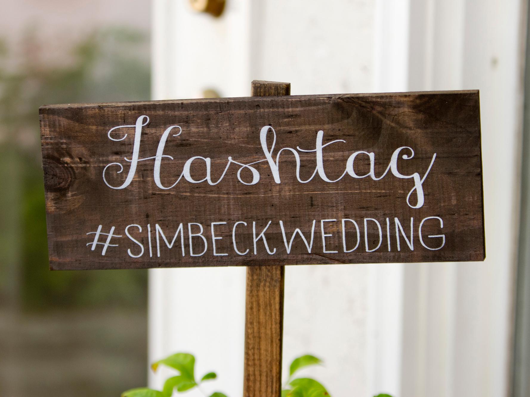 Wedding Hashtag Puns.How To Create A Wedding Hashtag Love Our Wedding
