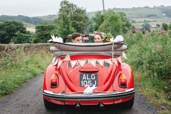 A marvellously creative wedding…