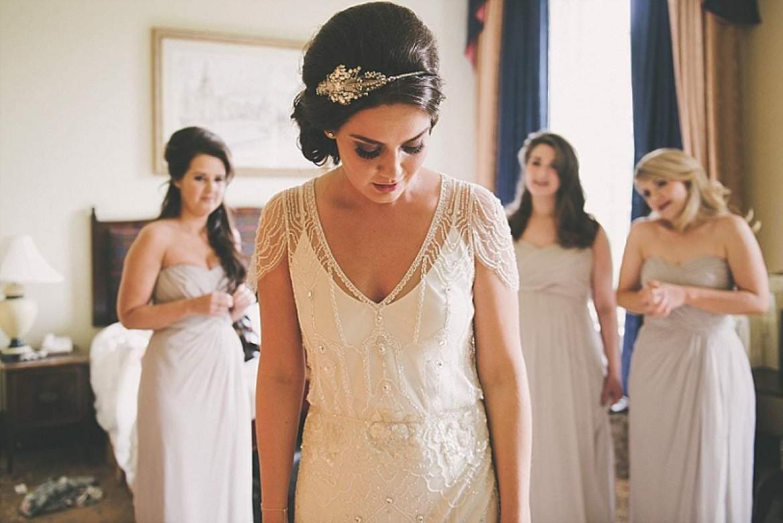 real-brides' dresses