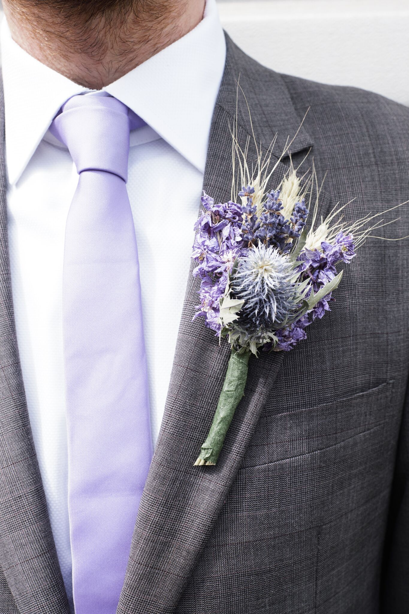 ShropshirePetals.com Blue Wheat Buttonhole £10 pack of 3 (4)_preview