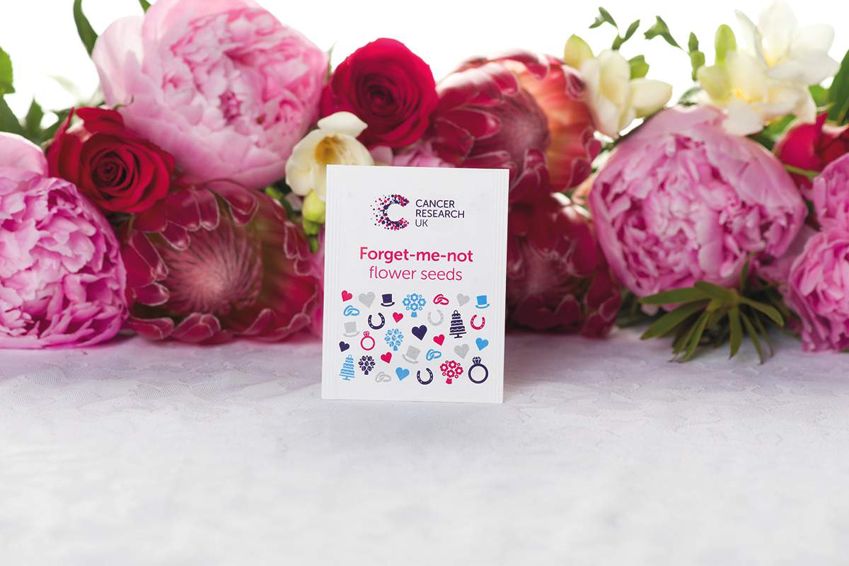 Cancer Research Forget-me-not Flower Seeds