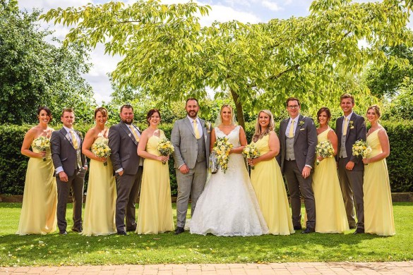 A sensational country meadow wedding